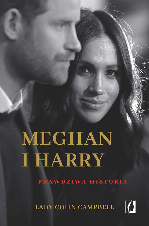 Meghan i Harry. prawdziwa historia okładka książka