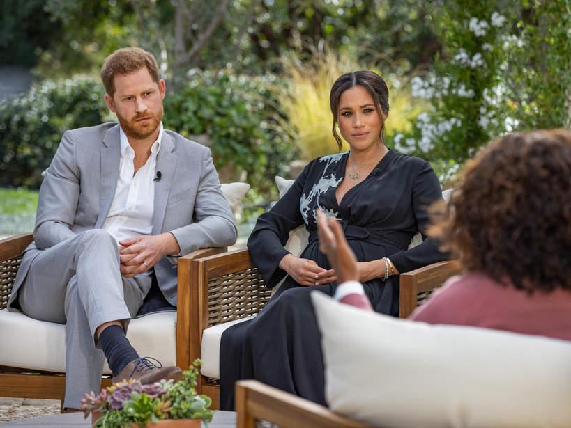 Meghan i Harry w wywiadzie Oprah Winfrey