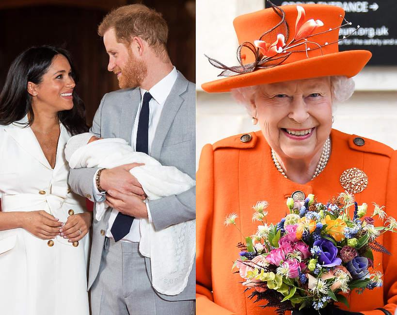 Meghan i Harry zostali rodzicami. Reakcja królowej Elżbiety II