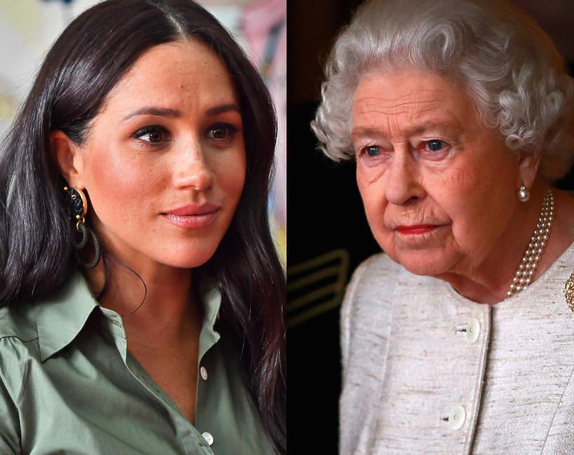 Meghan Markle i Elżbieta II mają konflikt? Chodzi o chrzciny dziecka Meghan i Harry'ego