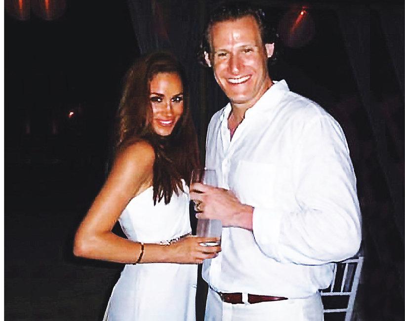 Meghan Markle i jej pierwszy mąż, Trevor Engelson