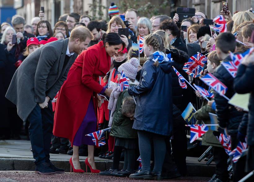 Meghan Markle i książę Harry  imię dla córki