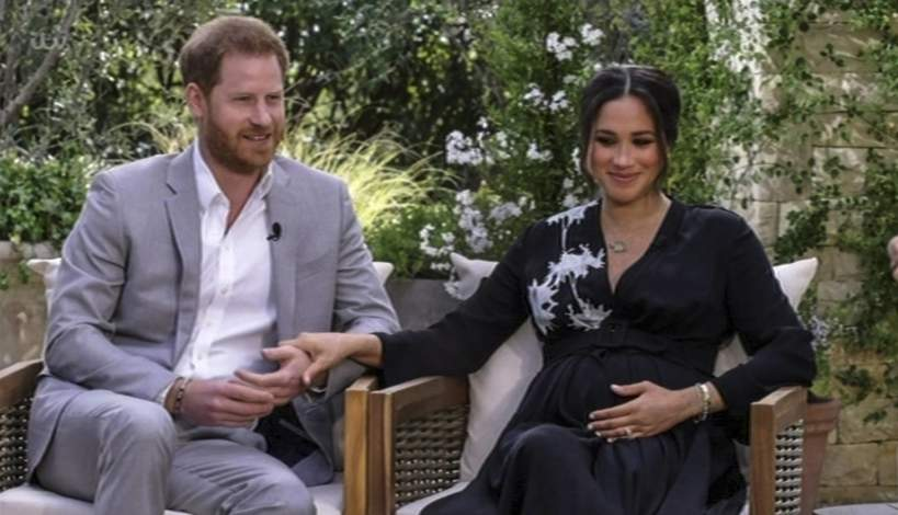 Meghan Markle i książę Harry - wywiad z Oprah Winfrey
