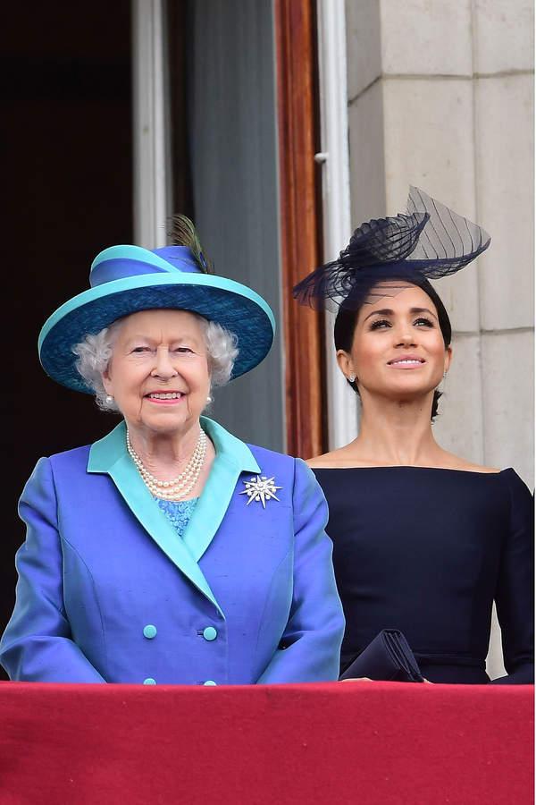 Meghan Markle, królowa Elżbieta, imię prawnuczki