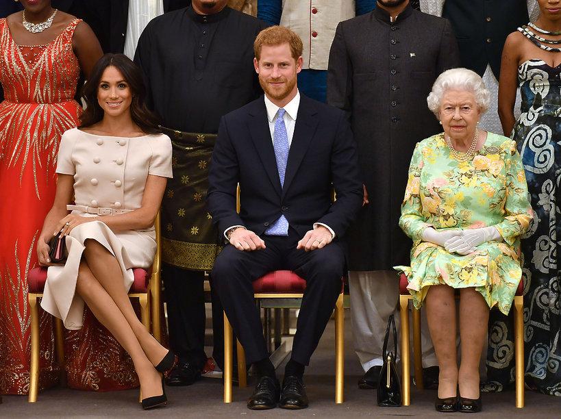 Meghan Markle, książę Harry, nagrody Queen's Young Leaders