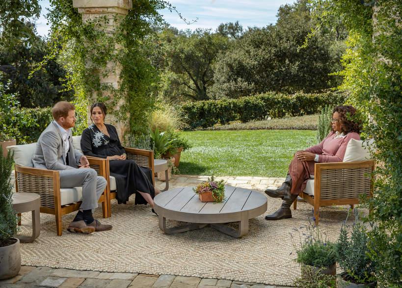 Meghan Markle, Książę Harry, Oprah Winfrey