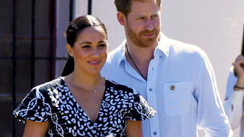 Meghan markle, księżna Meghan, książę Harry, royal tour, RPA