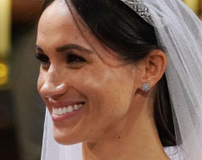 Meghan Markle makijaż ślubny