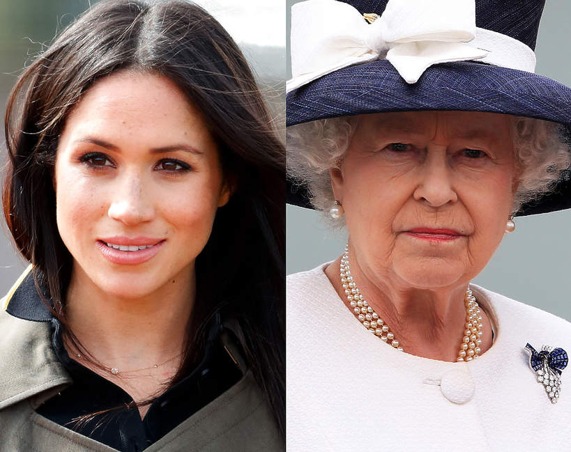 Meghan Markle skłamała, mówiąc o relacji z królową Elżbietą II?