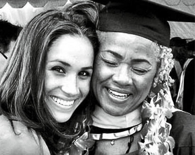 Meghan Markle z mamą, Doria Ragland