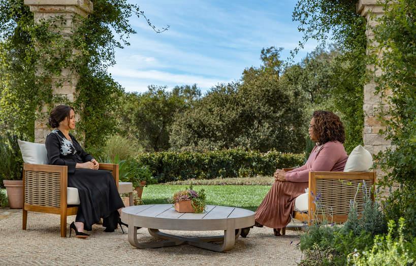 Meghan o samobójstwie u Oprah