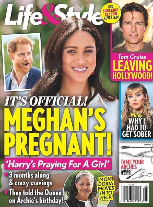 Meghan w ciąży