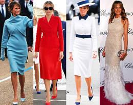 Pierwsza Dama Melania Trump pożegnała się z Białym Domem. Przypominamy jej najlepsze stylizacje!