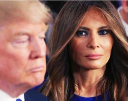 Melania Trump po raz kolejny odrzuca czułe gesty męża. Nowe nagranie jest hitem sieci!