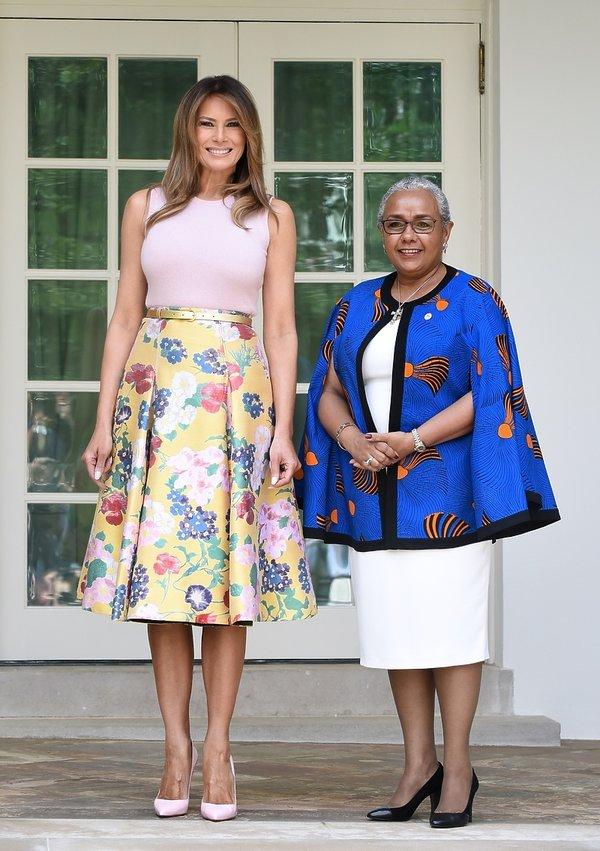 Melania Trump, Donald Trump, stylizacja Melanii Trump