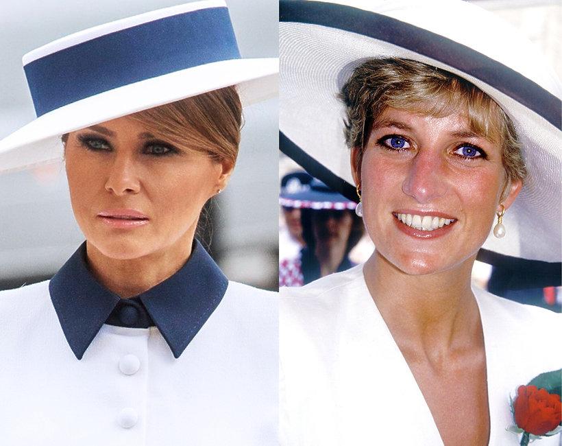 Melania Trump oddała hołd księżnej Dianie