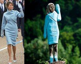 W Słowenii odsłonięto pierwszy pomnik Melanii Trump. Czy przypomina pierwszą damę?
