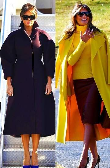 Melania Trump, stylizacje