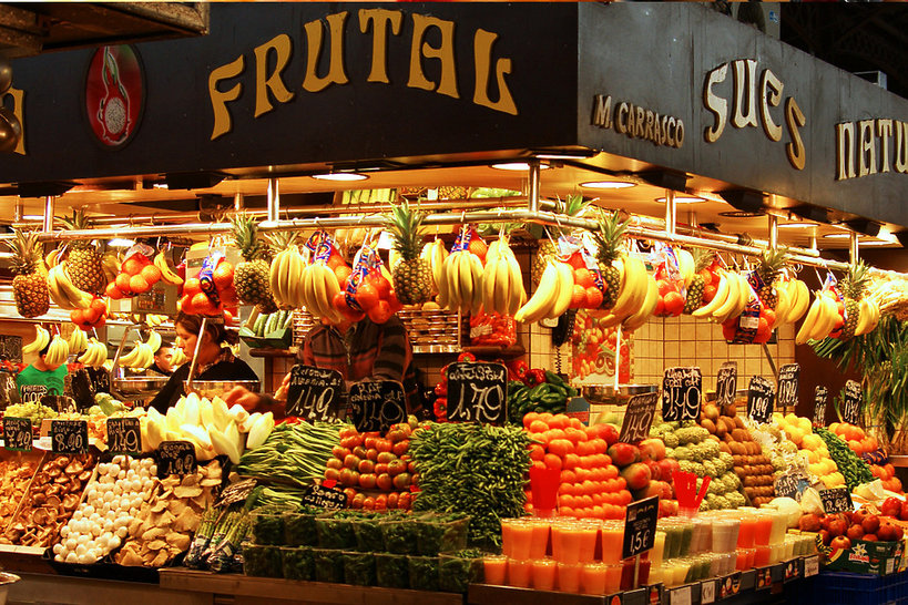 Mercat de la Boquiera, Barcelona