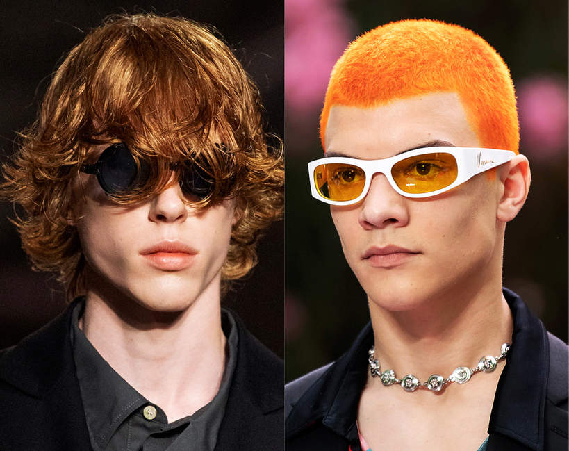 Męskie fryzury trendy wiosna lato 2020