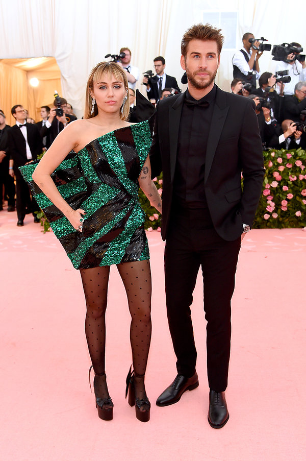 Met Gala 2019, Miley Cyrus, Liam Hemsworth