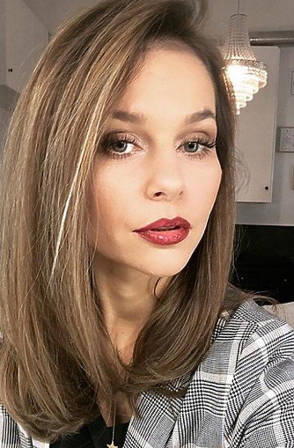 Paulina Sykut Jeżyna Nowa Fryzura Prezenterka W Lokach