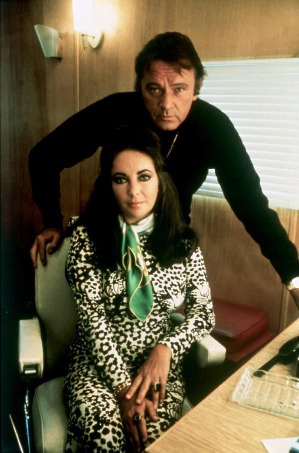 Mężowie Elizabeth Taylor: Richard Burton
