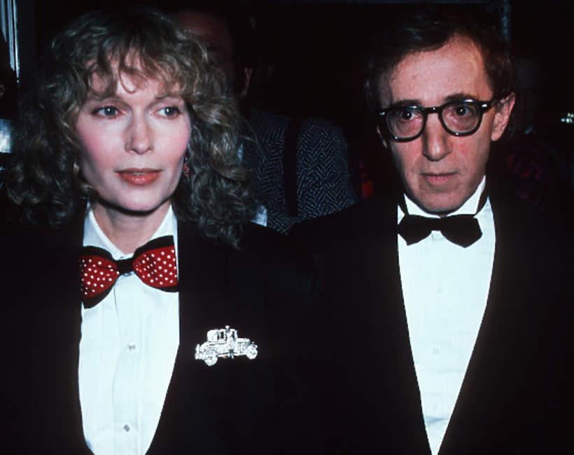 Mia Farrow, Woody Allen, 1986