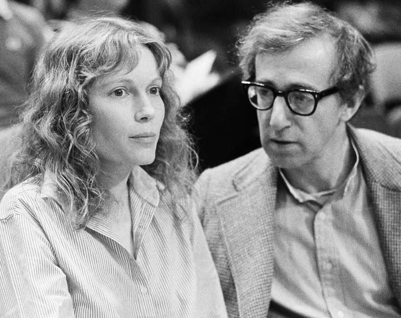Mia Farrow, Woody Allen