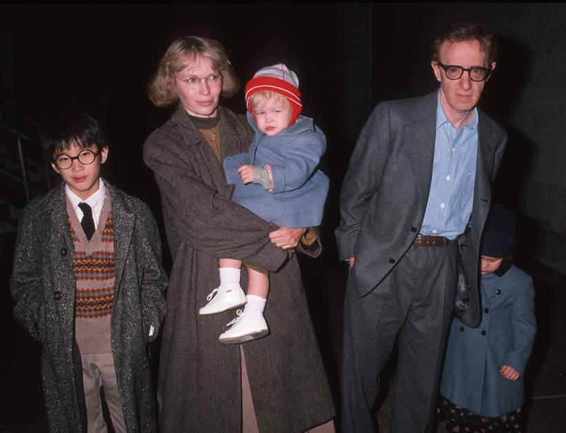 Mia Farrow, Woody Allen, dzieci