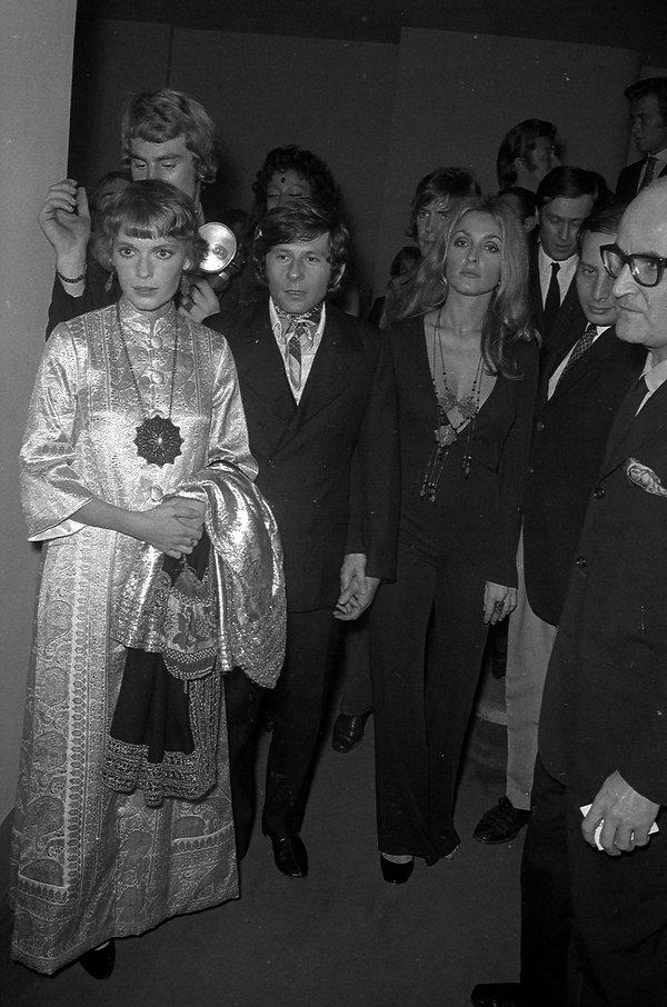 Mia Farrow (z Romanem Polańskim), Cannes 1968 rok