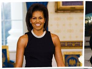 Micelle Obama, urodziny, jamnik