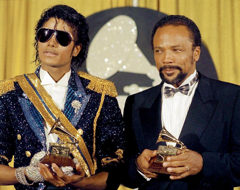 Michael Jackson i Quincy Jones new
