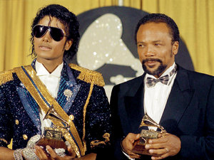 Michael Jackson i Quincy Jones new