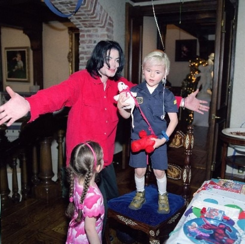 Michael Jackson, Prince Jackson i Paris Jackson