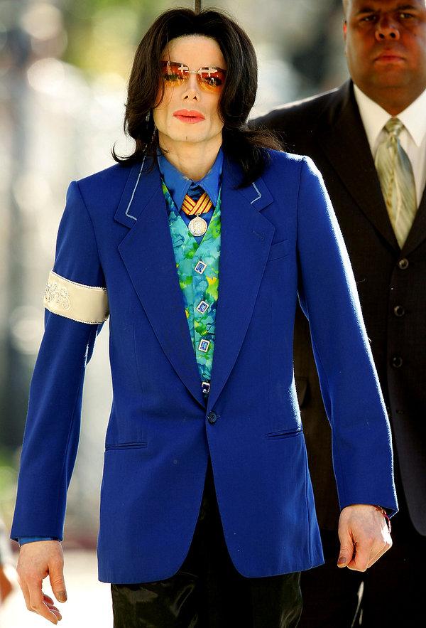 Michael Jackson, stylizacje, 2005