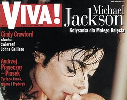 Michael Jackson z synem na okładce Vivy!