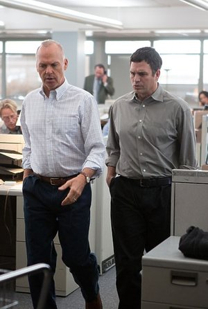Michael Keaton i Mark Ruffalo