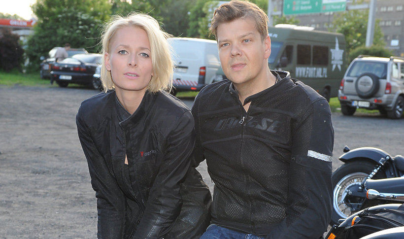 Michał Figurski może liczyć na wsparcie byłej  żony