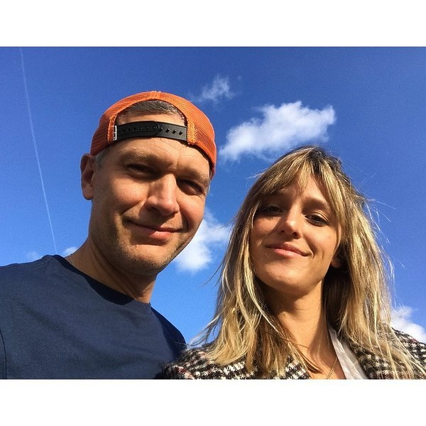 Michał Żebrowski i Aleksandra Żebrowska