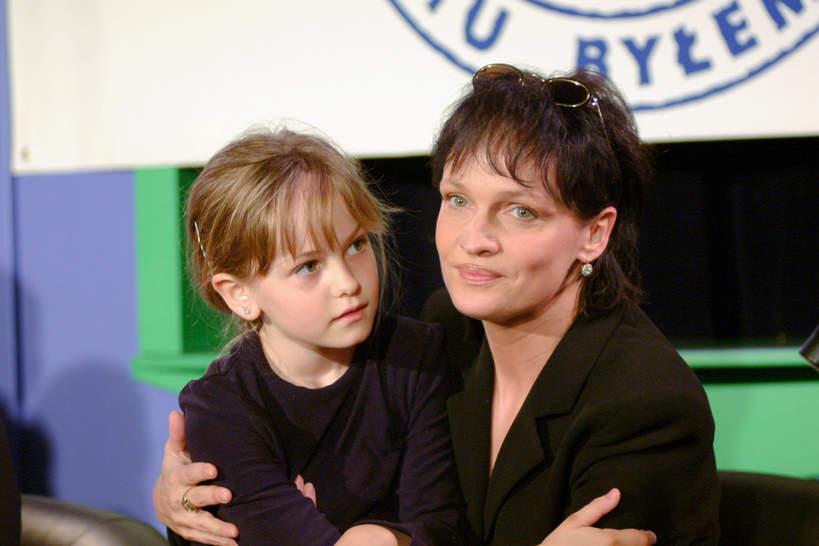 Michalina Robakiewicz, córka Adrianny Biedrzyńskiej