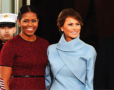Michelle Obama, Melania Trump