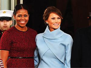 Michelle Obama, Melania Trump