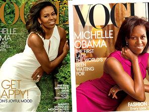 Michelle Obama na okładkach Vogue