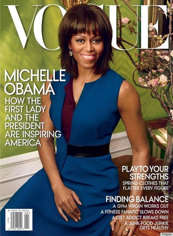 Michelle Obama Vogue 2013