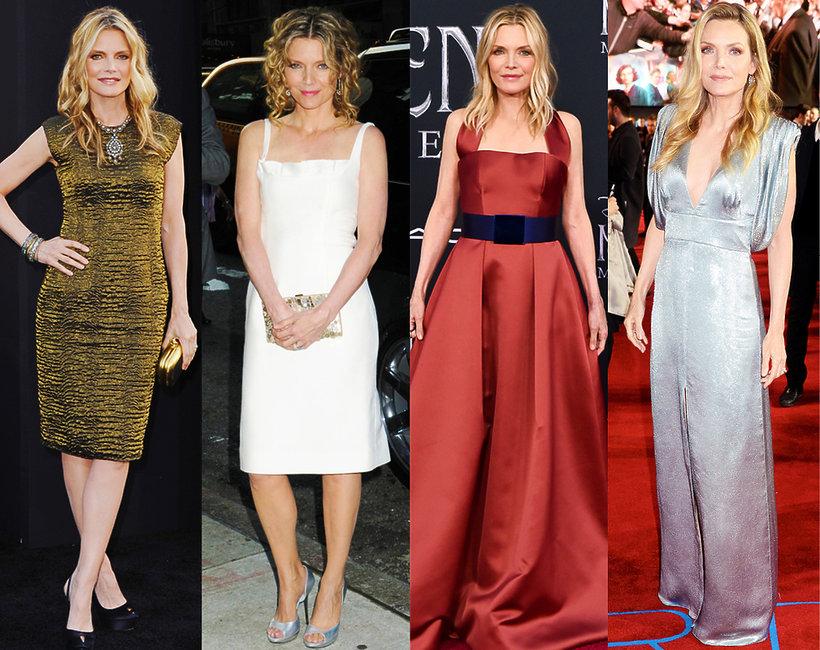 Michelle Pfeiffer, stylizacje