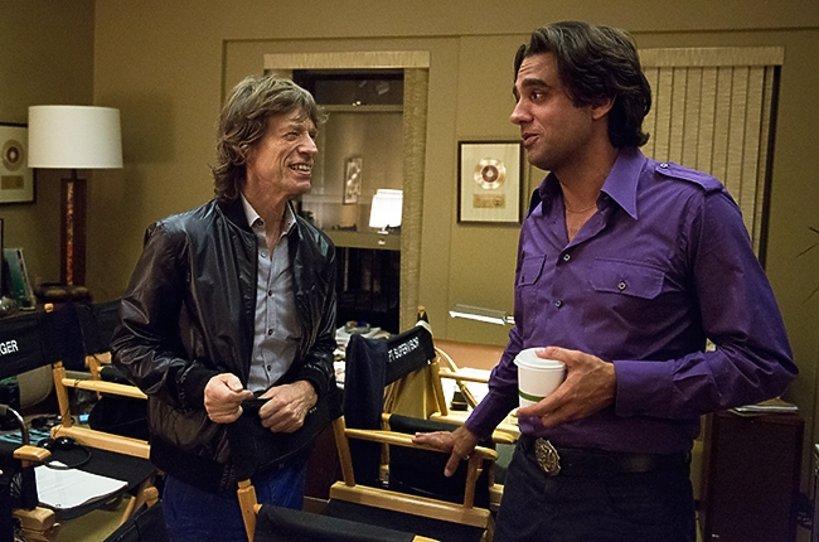 Mick Jagger i Bobby Cannavale