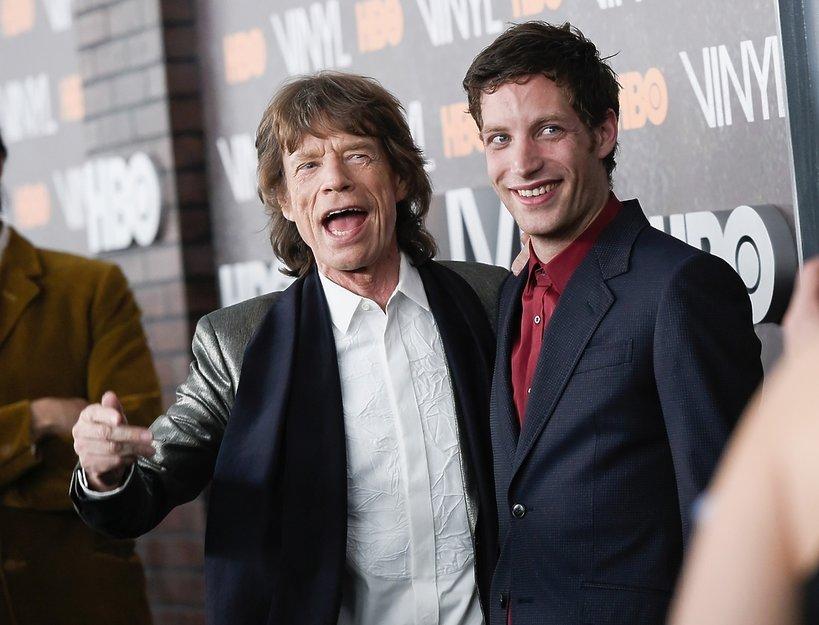 Mick Jagger i James Jagger