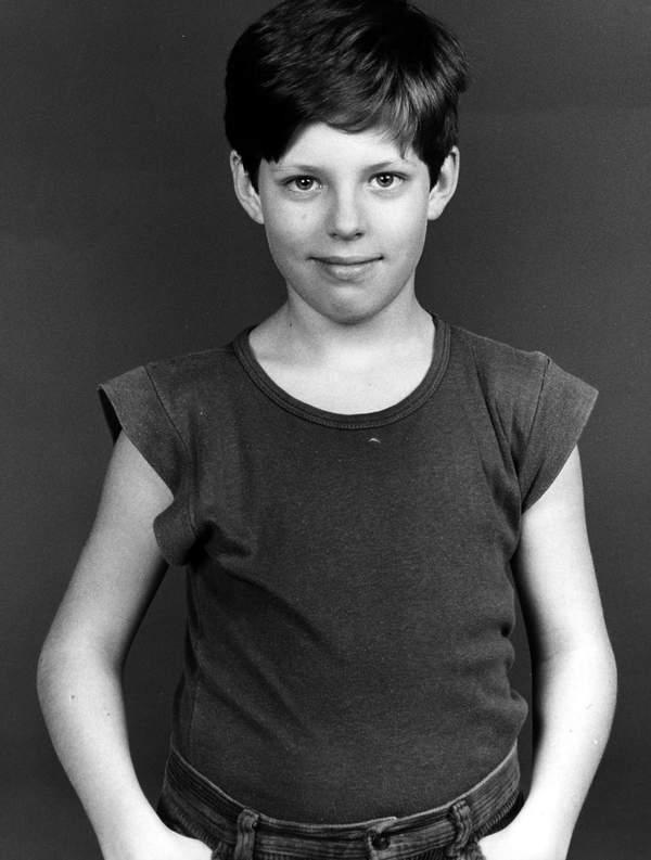 Mikołaj Radwan w dzieciństwie
