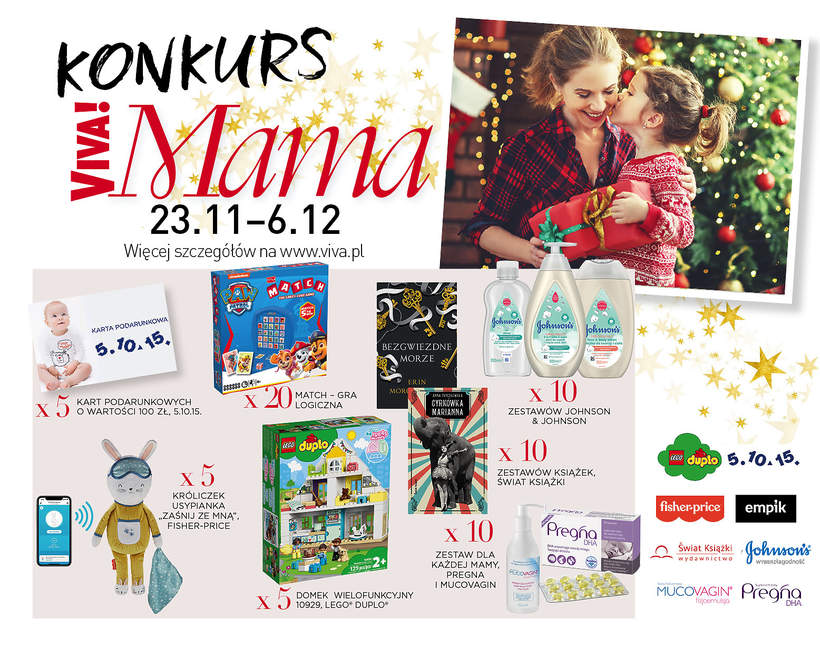 Mikołajkowy konkurs Viva! Mama